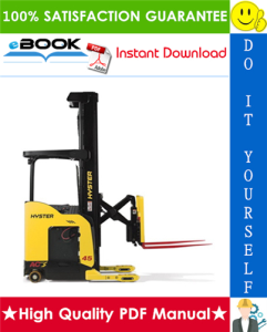Hyster N45ZR, N35ZDR (C264) Reach Truck Forklift Parts Manual | eBooks | Technical