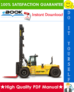 hyster h800hds, h900hds, h970hds, h1050hds, h900hd, h970hd, h1050hd (c917) high-capacity forklift trucks parts manual