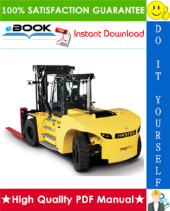 hyster challenger h25xm, h30xm, h35xm, h40xm, h40xms (d001) heavy duty forklift truck parts manual