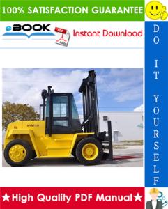 Hyster H165XL, H190XL, H210XL, H230XL, H250XL, H280XL (D007) Forklift Trucks Parts Manual | eBooks | Technical