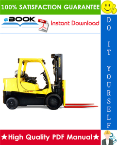 Hyster FORTIS S135FT, S155FT (D024) Compact Internal Combustion Forklift Parts Manual | eBooks | Technical