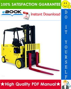 hyster e70z, e80z, e100z, e120z, e100zs (d098) forklift trucks parts manual