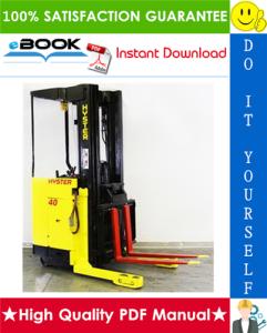 Hyster N40FR, N45FR, N50FA (D138) Electric Reach Trucks Parts Manual | eBooks | Technical