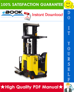 hyster n45zr2, n35zdr2 (d264) reach truck forklifts parts manual