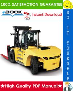 Hyster Challenger H25XM, H30XM, H35XM, H40XM, H40XMS [H1.50XM, H1.75XM, H2.00XMS] (E001) Heavy Duty Forklift Trucks Parts Manual | eBooks | Technical