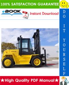 Hyster CHALLENGER H165XL, H190XL, H210XL, H230XL, H250XL, H280XL (E007) Forklift Trucks Parts Manual | eBooks | Technical