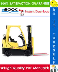Hyster FORTIS S30FT, S35FT, S40FTS (E010) Cushion Tire Forklifts Parts Manual | eBooks | Technical