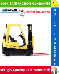 hyster challenger h300hd, h330hd, h360hd, h360hd-ec (e019) high-capacity forklift trucks parts manual