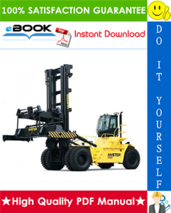 Hyster Challenger H1050HD-CH, H1150HD-CH (E117) Container Handlers Parts Manual | eBooks | Technical