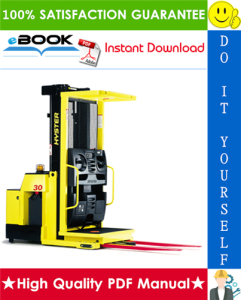 Hyster R30F, R30FA, R30FF (E118) Electric Reach Trucks Parts Manual | eBooks | Technical
