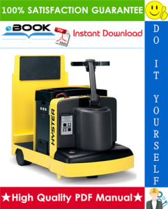 Hyster T5XT (E142) Tractor/Rider Parts Manual | eBooks | Technical