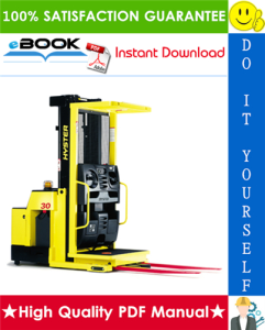 Hyster R30XMS3 3000 lb. Capacity (E174) Narrow Aisle Order Picker Parts Manual | eBooks | Technical