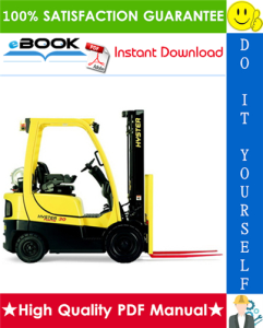 Hyster Fortis H30FT, H35FT, H40FTS (F001) 4-Wheel Pneumatic Tire Forklifts Parts Manual | eBooks | Technical
