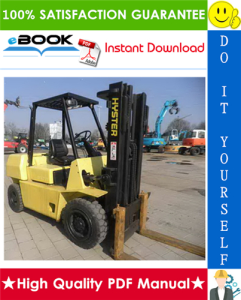 Hyster Challenger H40J (H2.00J), H50J (H2.50J), H60JS (H3.00JS) [F003] Forklift Trucks Parts Manual Parts Manual | eBooks | Technical