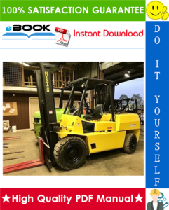 Hyster Challenger H70XL, H80XL, H90XL, H100XL, H110XL, H90XLS (F005) Forklift Trucks Parts Manual | eBooks | Technical