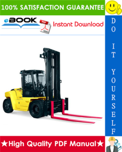 Hyster Challenger H170HD, H190HD, H210HD, H230HD, H250HD, H280HD (F007) Heavy-Duty Forklifts Parts Manual | eBooks | Technical