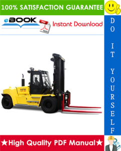 hyster h550hd, h550hds, h620hd, h650hd, h650hds, h700hd, h700hds (f008) high-capacity forklift trucks parts manual