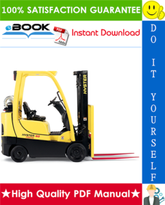 Hyster S30FT, S35FT, S40FTS (F010) Cushion Tire Forklifts Parts Manual | eBooks | Technical