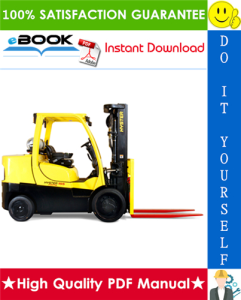 Hyster S135FT, S155FT (F024) 4-Wheel Cushion Tire Forklifts Parts Manual | eBooks | Technical