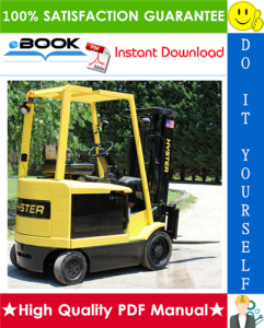 Hyster E45XM, E50XM, E55XM, E60XM, E65XM (F108) Cushion Tire Sit-Down Rider Electric Lift Trucks Parts Manual | eBooks | Technical
