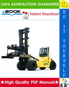 Hyster Challenger H1050HD-CH, H1150HD-CH (F117) Container Handlers Parts Manual | eBooks | Technical