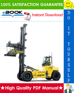 Hyster H1050HD-16CH, H1150HD-16CH (G117) Container Handlers Parts Manual | eBooks | Technical