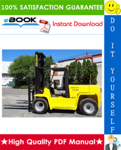 Hyster H135XL, H155XL (G006) Forklift Trucks Parts Manual | eBooks | Technical