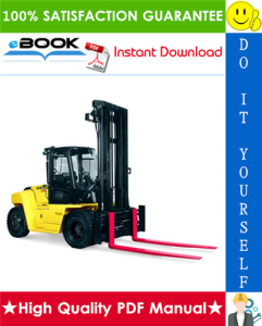 Hyster Challenger H170HD, H190HD, H210HD, H230HD, H250HD, H280HD (G007) Heavy-Duty Forklifts Parts Manual | eBooks | Technical