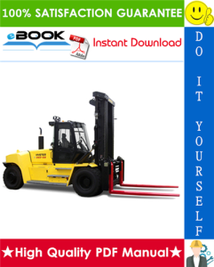 hyster h550hd, h620hd, h650hd, h700hd, h550hds, h650hds, h700hds (g008) high-capacity forklift trucks parts manual