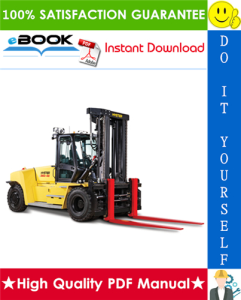 hyster h300hd, h330hd, h360hd, h360hd-12ec (g019) high-capacity forklift trucks parts manual