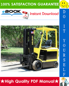 Hyster E45Z, E50Z, E55Z, E60Z, E65Z (G108) Forklift Trucks Parts Manual | eBooks | Technical