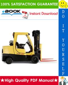hyster fortis s80ft, s100ft, s120ft, s80ftbcs, s100ftbcs, s120fts, s120ftprs (h004) 4-wheel cushion tire lift trucks parts manual