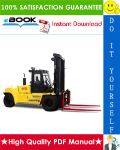 hyster h550hd, h650hd, h700hd, h550hds, h650hds, h700hds (h008) high-capacity forklift trucks parts manual