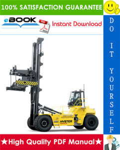Hyster H1050HD-16CH, H1150HD-16CH (H117) Container Handlers Parts Manual | eBooks | Technical