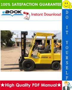 hyster challenger h45xm, h50xm, h55xm, h60xm, h65xm (h177) forklift trucks parts manual