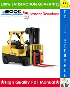 hyster s80ft, s80ft-bcs, s100ft, s100ft-bcs, s120ft, s120fts, s120ft-prs (j004) forklift trucks parts manual