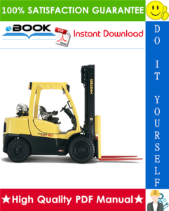 hyster fortis h80ft, h90ft, h100ft, h110ft, h120ft (n005) forklift trucks parts manual