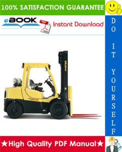 hyster h80ft, h90ft, h100ft, h110ft, h120ft (u005) 4-wheel pneumatic tire lift trucks parts manual