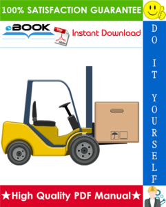 Hyster A20XL, A25XL, A30XL (A203) Electric Forklift Trucks Service Repair Manual | eBooks | Technical