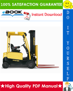 Hyster J40XM, J50XM, J60XM, J65XM (A216) Electric Forklift Trucks Service Repair Manual | eBooks | Technical
