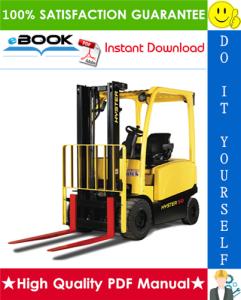 hyster j45xn, j50xn, j60xn, j70xn (a276) 4-wheel electric lift trucks service repair manual