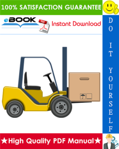 Hyster E20B, E20BH, E25B, E25BH, E30BH, E30BS (B114) Electric Forklift Trucks Service Repair Manual | eBooks | Technical