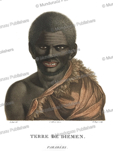 Parabe´ri, an adult male of Van Diemen's Land (Tasmania), Nicolas-Martin Petit, 1803 | Photos and Images | Travel