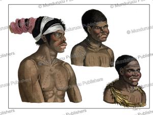 Natives of Van Diemen's Land (Tasmania), F. Castelli, 1816 | Photos and Images | Travel