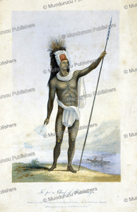 Chief Te Po of Rarotonga, George Baxter, 1837 | Photos and Images | Travel