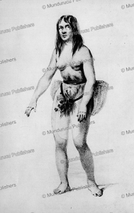 Woman of the Easter Islands with tattoos, Radiguet, 1841 | Photos and Images | Travel