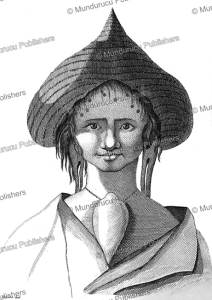 easter island woman, victor marie felix danvin, 1836