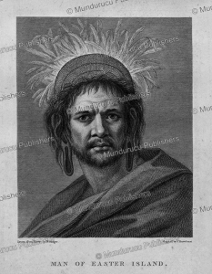 man of easter island, william hodges, 1777