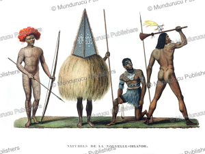Inhabitants of New Ireland, Louis Isidore Duperrey, 1826 | Photos and Images | Travel