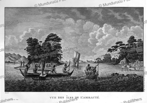 View of Admiralty Island, Bismarck Archipelago, Jean Piron, 1791 | Photos and Images | Travel